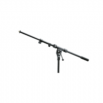 K&M 211/1 Telescopic Boom Arm - Black